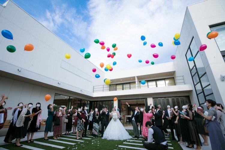 サプライズいっぱいの結婚式