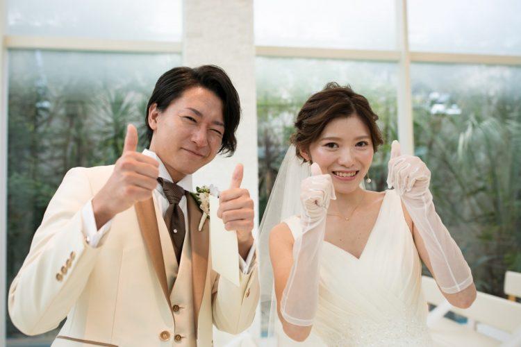 笑顔と涙いっぱいの結婚式