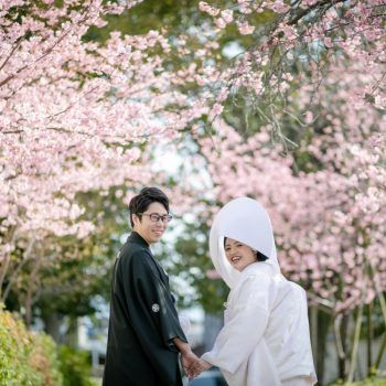 三嶋大社の結婚式【2月】