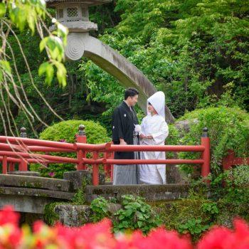 三嶋大社の結婚式【4月】